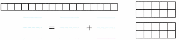 Envision Math Common Core Grade K Answers Topic 10 Compose and Decompose Numbers 11 to 19 7.6