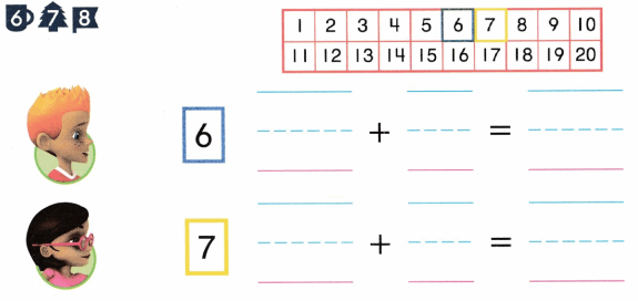 Envision Math Common Core Grade K Answers Topic 10 Compose and Decompose Numbers 11 to 19 9.8
