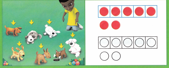 Envision Math Common Core Grade K Answers Topic 3 Numbers 6 to 10 q12