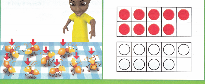Envision Math Common Core Grade K Answers Topic 3 Numbers 6 to 10 q35