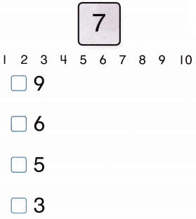 Envision Math Common Core Grade K Answers Topic 4 Compare Numbers 0 to 10 q75
